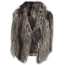 Grey feather bodywarmer(Polyvore) 34,95