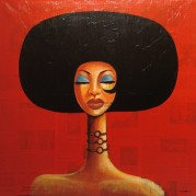 Afro Girl-Putu (Art district)