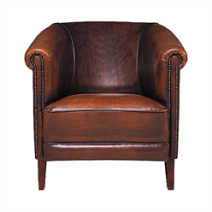 Fauteuil Texas leer(Rofra Home)