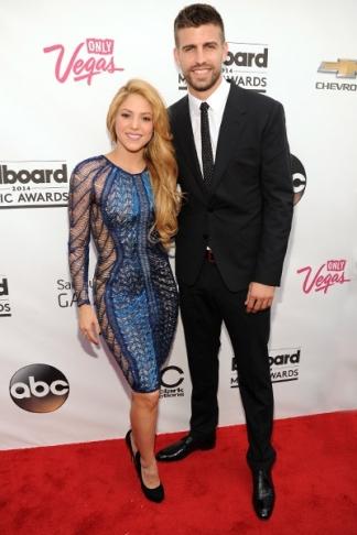 Shakira en Gerard Pique