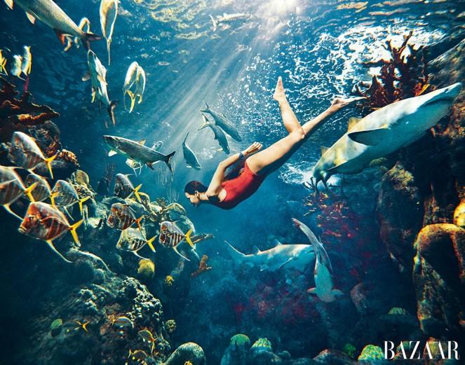 Rihanna in de Harper's Bazaar